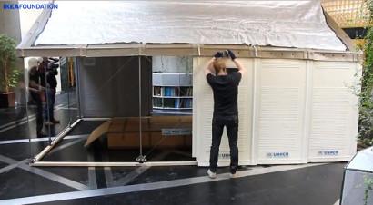 Armado de casa refugio Ikea