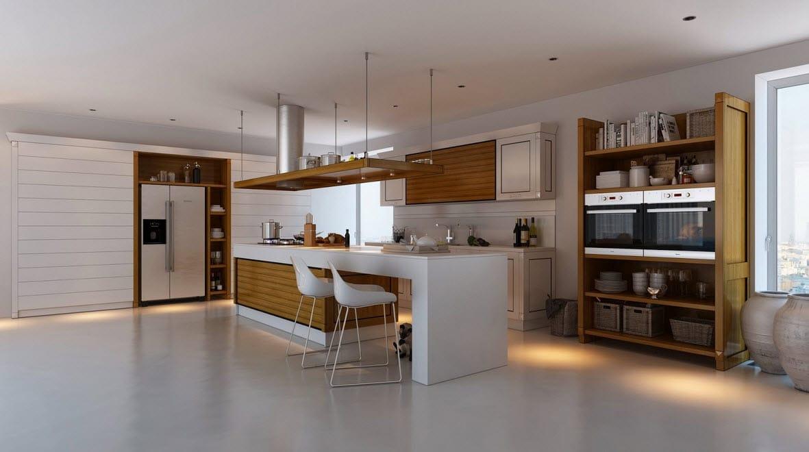 diseo de cocina pisos encimeras y colores