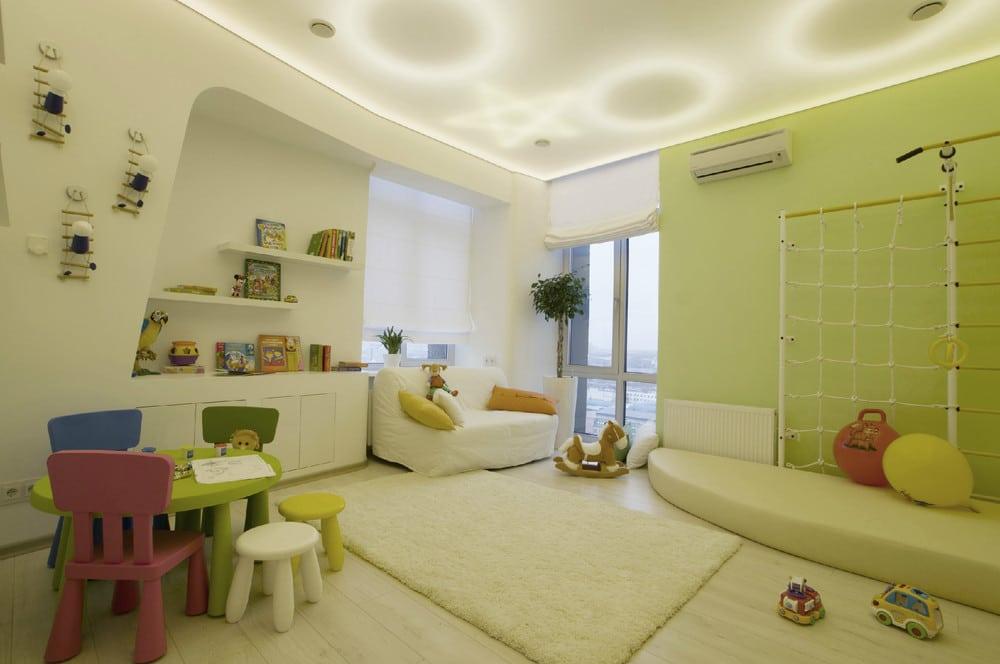 decoracin de interiores dormitorio de nios moderno