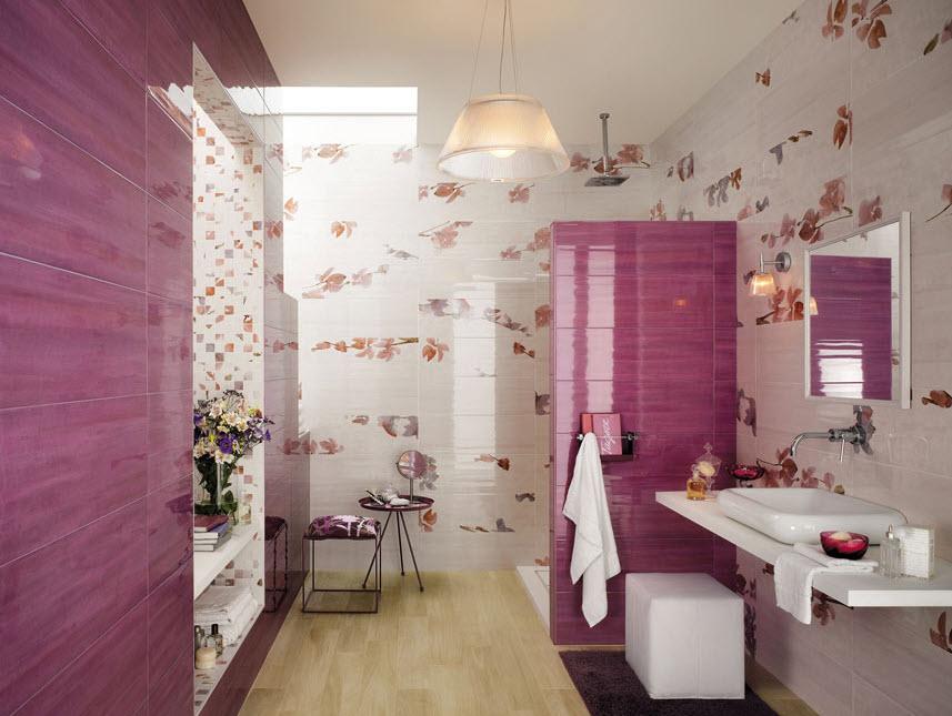 Cer mica para cuartos de ba o modelos dise os y colores for Ceramica para cuartos