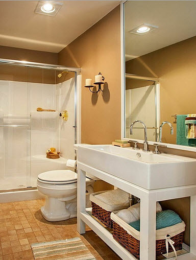 Dise o de cuarto de ba o peque os y medianos construye hogar - Disenos de cuartos de banos ...
