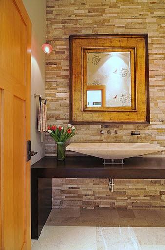 modernos diseo de cuarto de bao lavabo