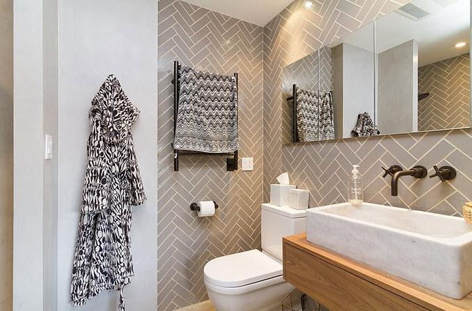 Bachas Para Baño Modernas:Diseño de cuarto de baño pequeños y medianos