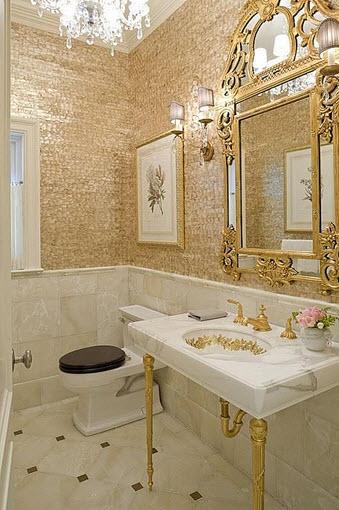 Baños Estilo Antiguo:Diseño de cuarto de baño pequeños y medianos