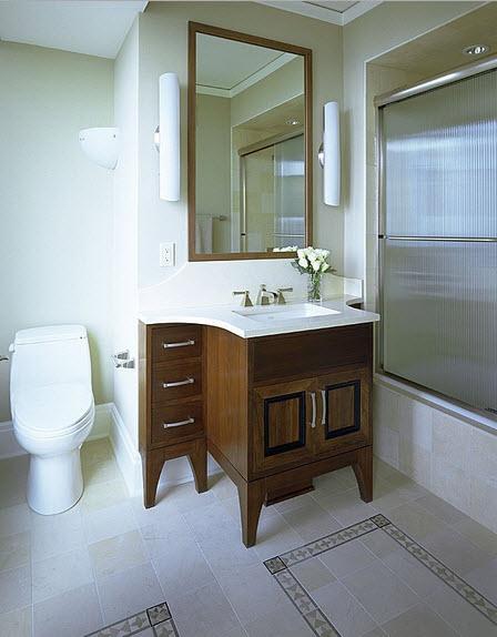 Dise o de cuarto de ba o peque os y medianos construye hogar - Fotos de alicatados de banos ...
