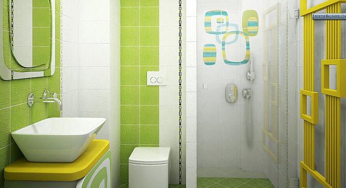 Dise o de cuarto de ba o peque os y medianos construye hogar for Ver disenos de banos modernos