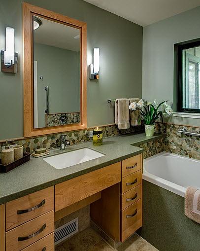 Diseno De Baños Medianos:Diseño de cuarto de baño pequeños y medianos