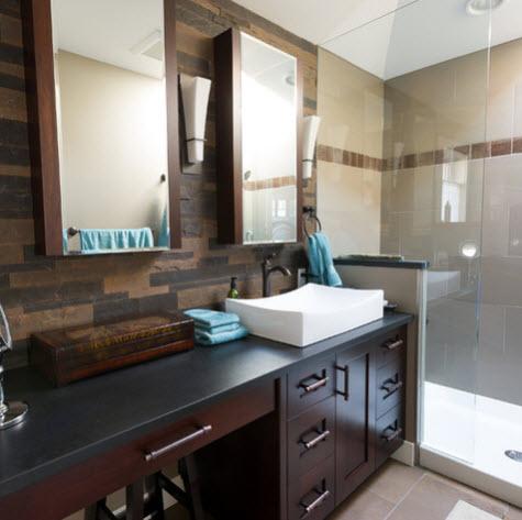 Dise o de cuarto de ba o peque os y medianos construye hogar - Banos nuevos disenos ...