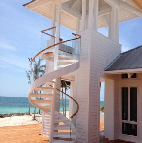 Diseño de escalera en espiral 6