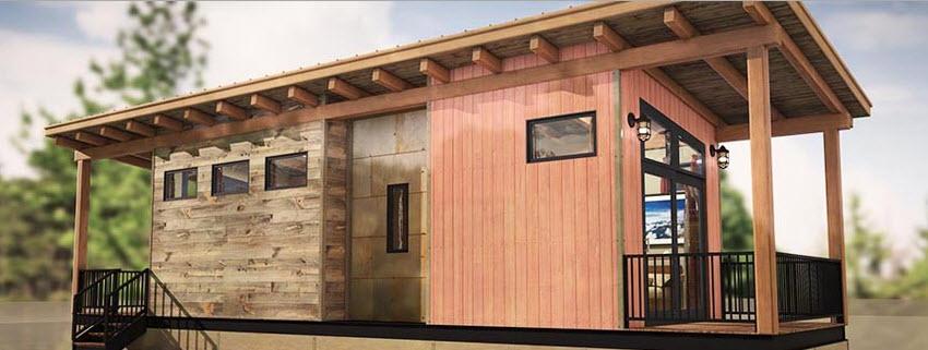 Dise o de casas peque as econ micas madera construye hogar - Casa pequena de madera ...