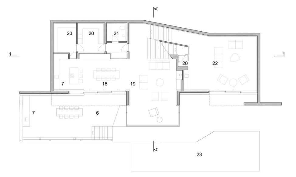 Dise o de moderna casa de playa v2 de 3hld fachada y - Diseno de planos de casas ...