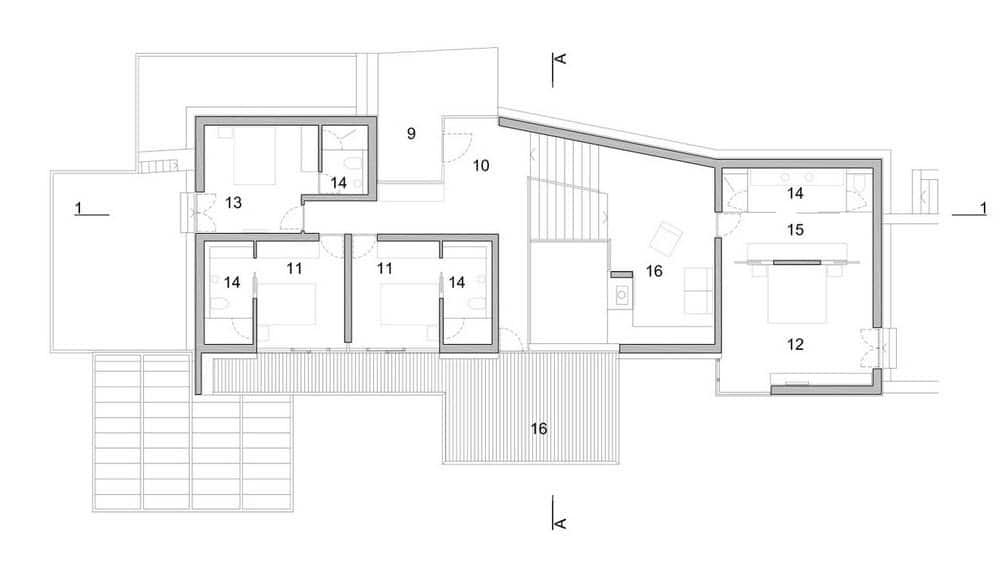 dise o de moderna casa de playa v2 de 3hld fachada y