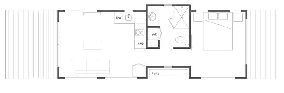 Dise o de casas peque as econ micas madera construye hogar for Ver planos de casas pequenas