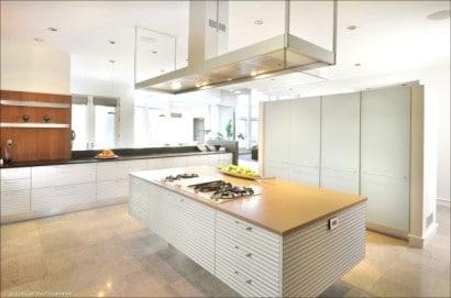 Diseño de cocina de lujo