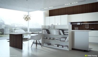 Diseño de cocina estudio