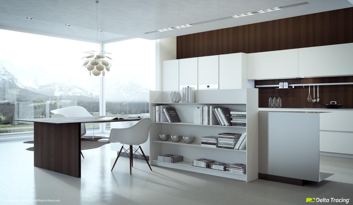 Dise o de cocinas modernas iluminaci n de interiores for Como disenar una cocina en forma de l