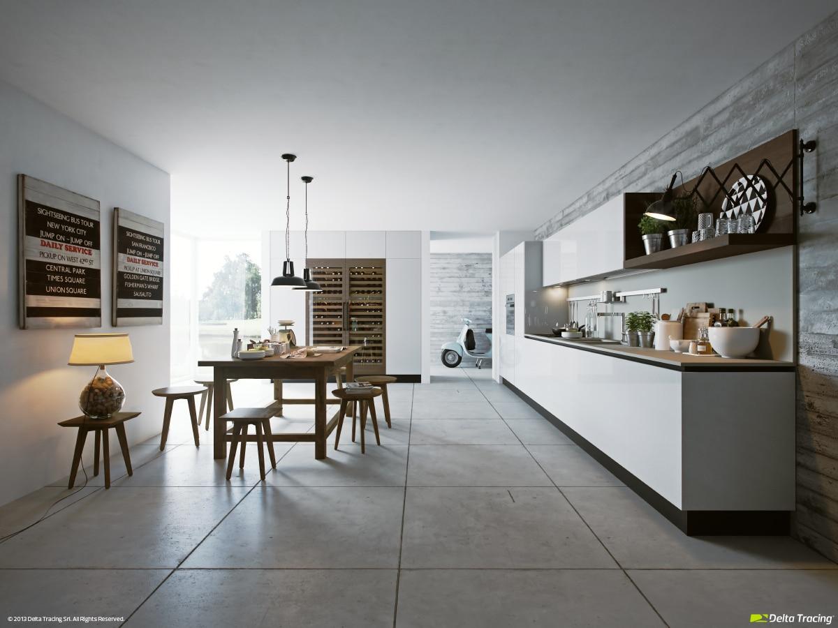 Dise o de cocinas modernas iluminaci n de interiores - Disenar la cocina ...