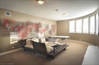 Diseño de cuarto de estudio
