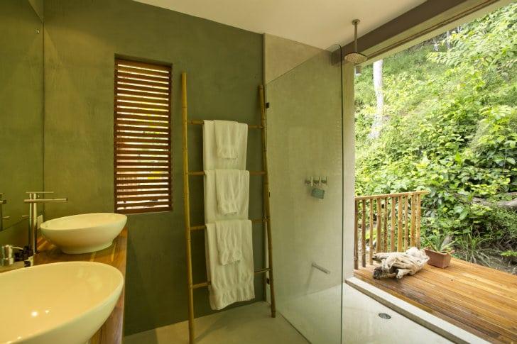 Decoracion Baño Tropical:Diseño de casa de madera para zonas cálidas o tropicales
