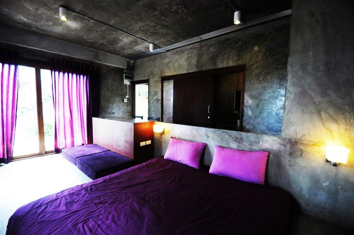 Casa peque a y econ mica de hormig n de dos pisos construye hogar - Decoracion economica de interiores ...
