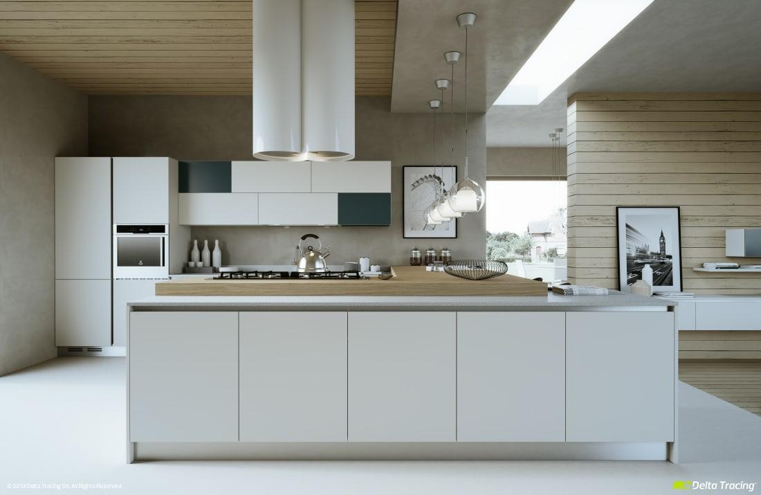 Dise o de cocinas modernas iluminaci n de interiores for Cocinas sobre diseno