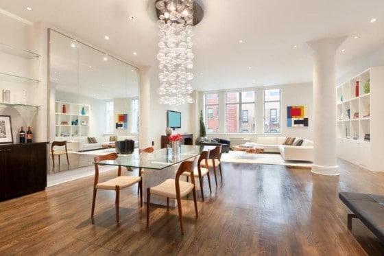 Decoración de interiores apartamento de lujo