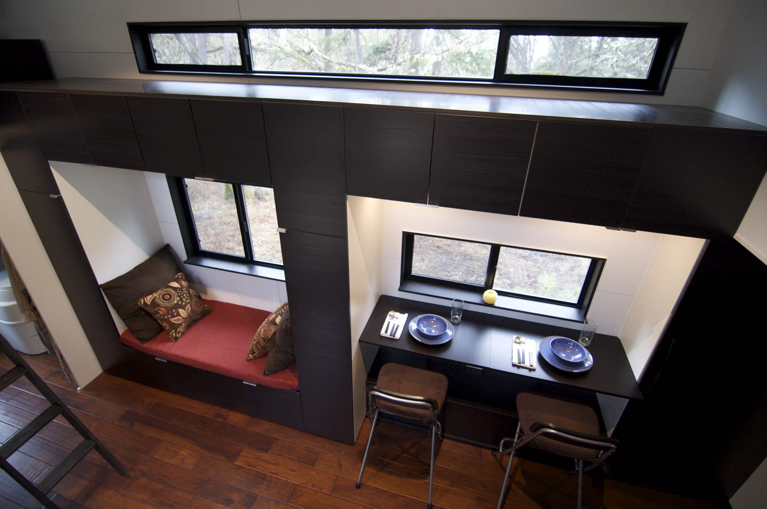Dise o de casa muy peque a optimizando espacios construye hogar - The mobile office working on two wheels ...