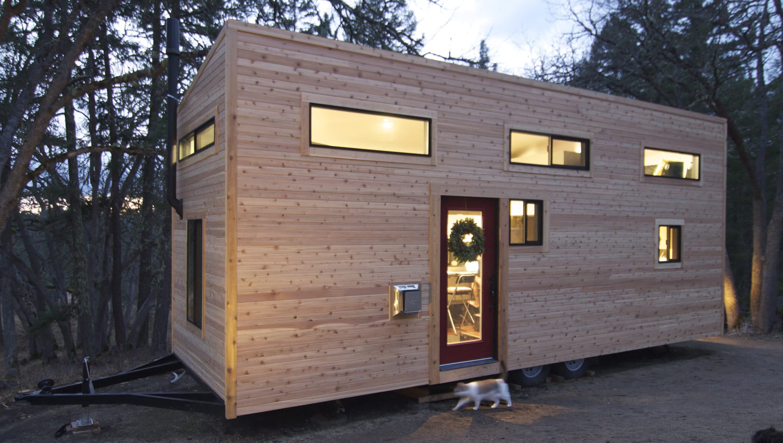 Dise o de casa muy peque a optimizando espacios - Casa pequena de madera ...