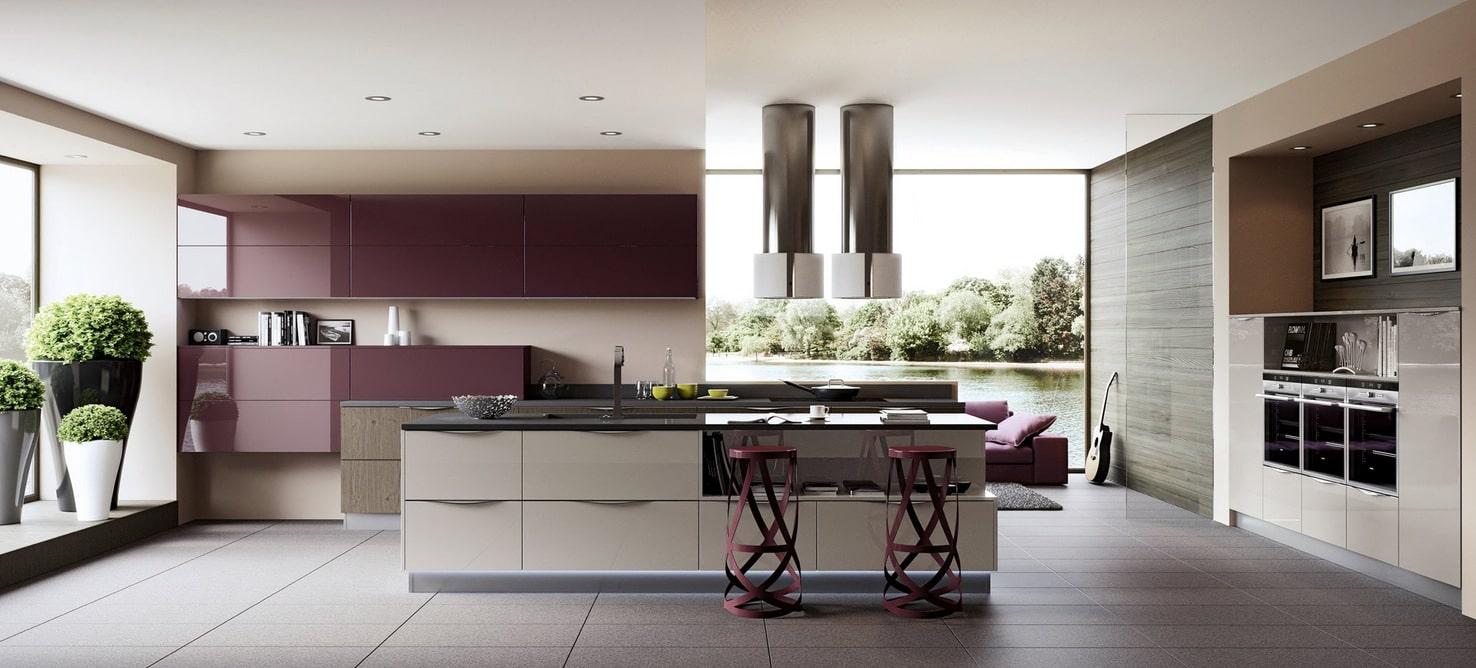 Dise 241 O De Cocinas Modernas Al Estilo Arte Pop Construye