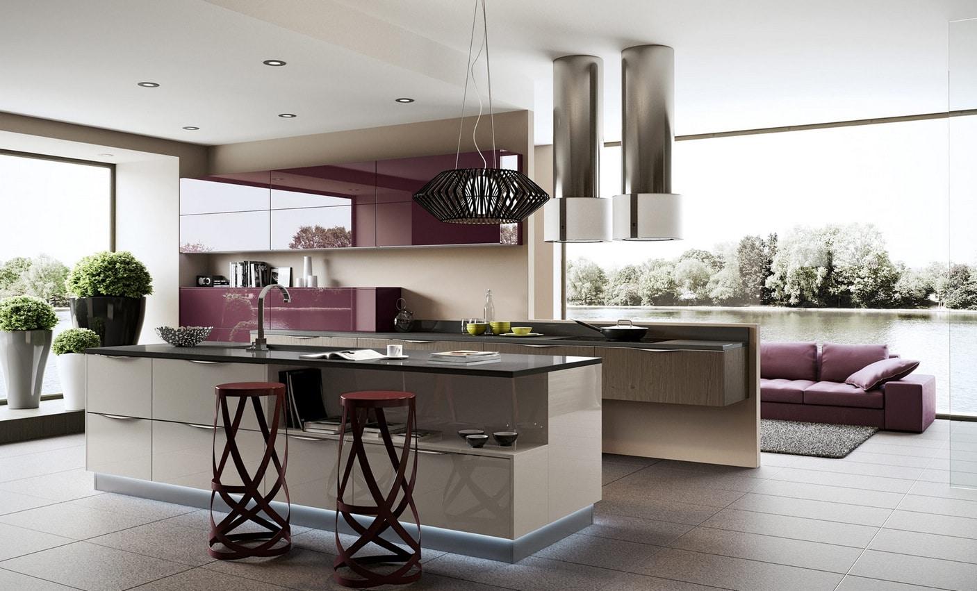 Dise o de cocinas modernas al estilo arte pop construye for Estilos de cocinas