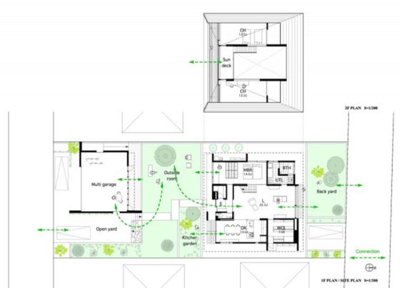 Diseño de planos de vivienda de un piso