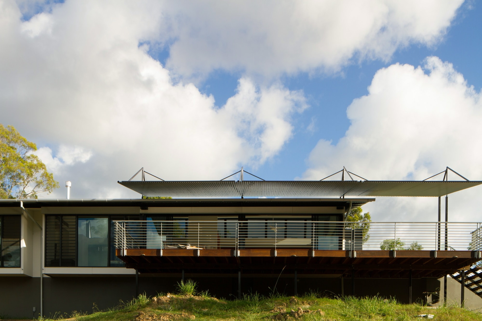 Dise O De Casa Moderna En Terreno Largo Y Angosto