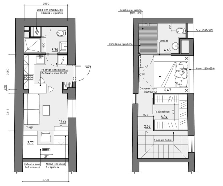 Dise o de peque o apartamento planos y decoraci n for Planos de apartamentos modernos