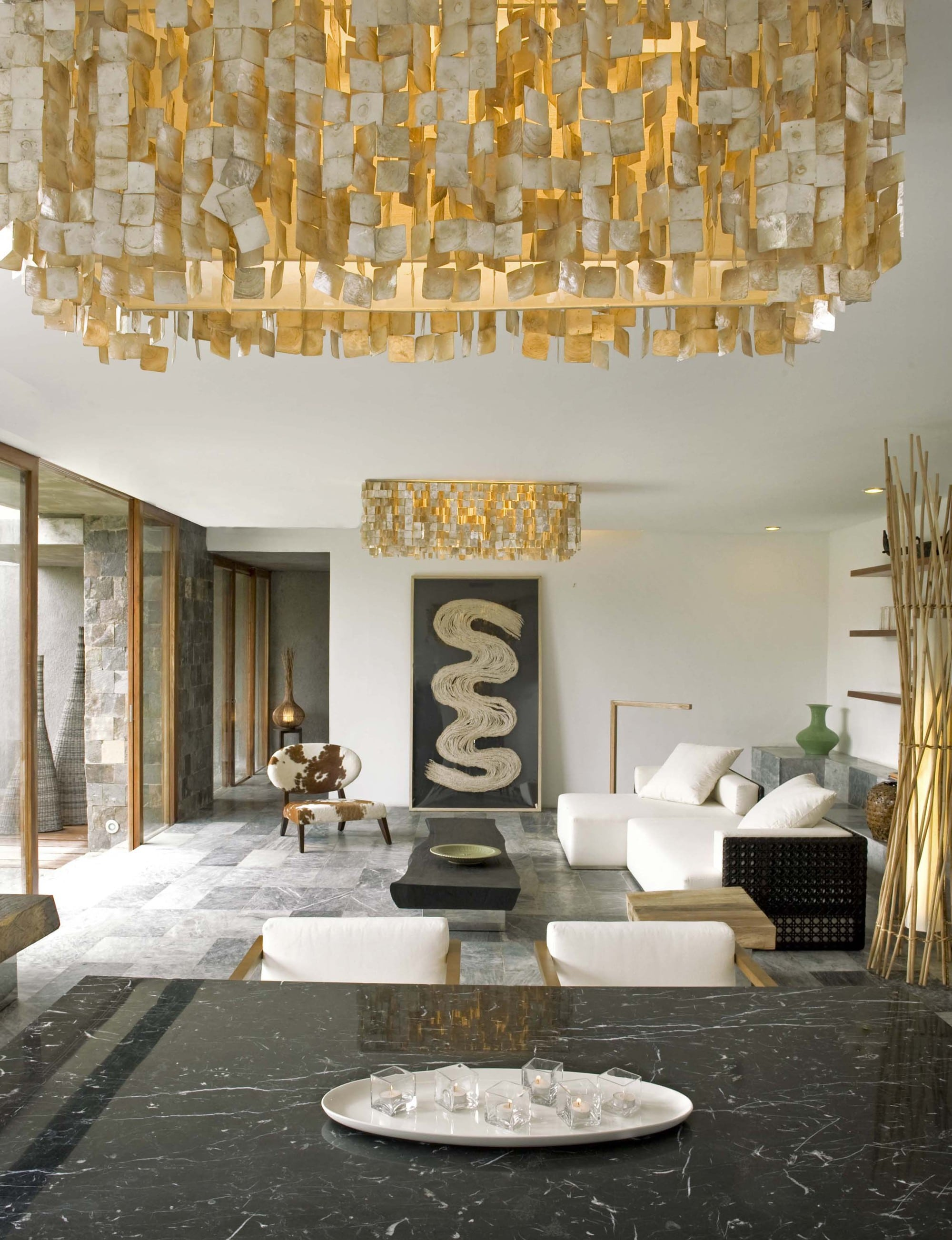 decoracin de interiores rstico de casa de tres pisos