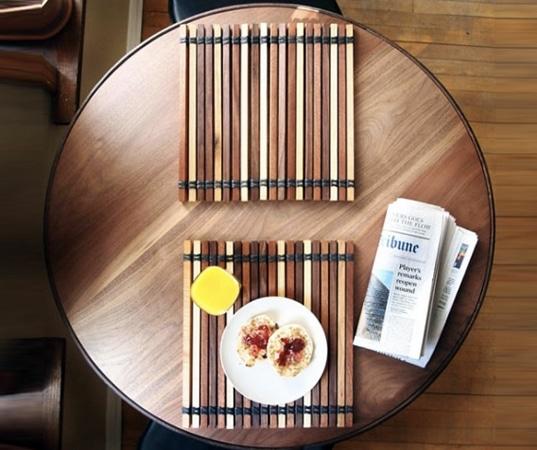 Dise o de muebles con materiales reciclados y r sticos for Materiales para tapiceria de muebles