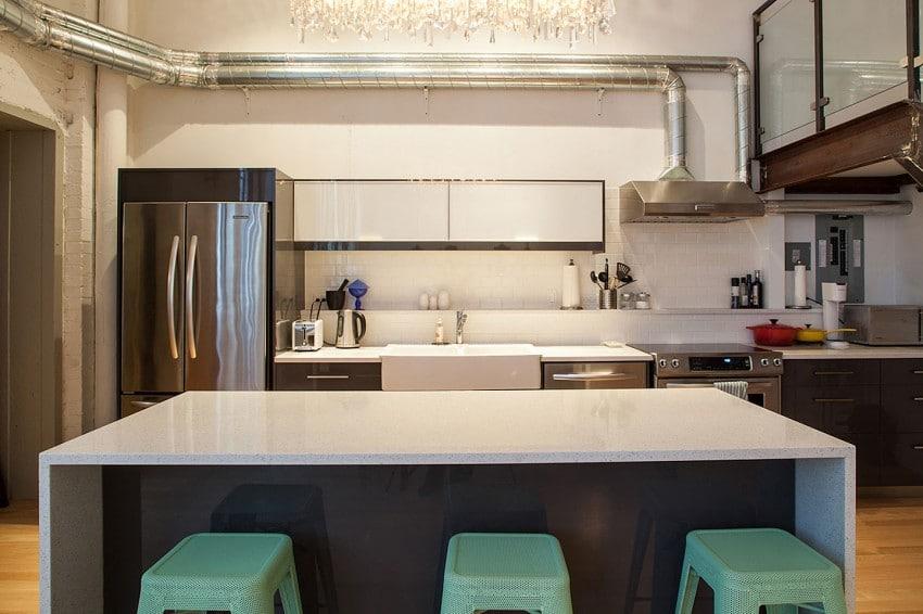 Dise o de cocina apartamento peque o construye hogar for Cocina apartamento pequeno