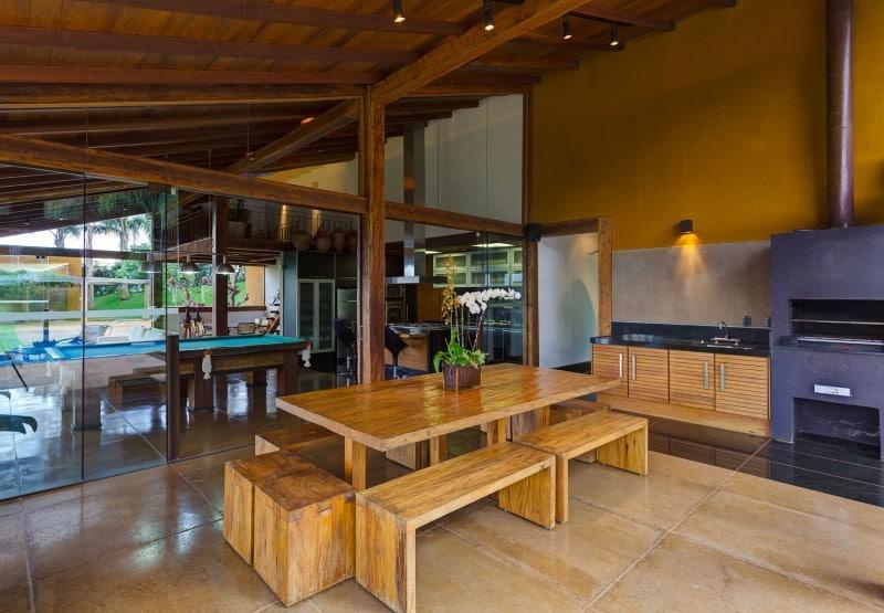 Dise o de cocina comedor casa de campo construye hogar for Cocinas para casas de campo
