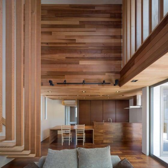 Diseño de cocina hecha de madera 2