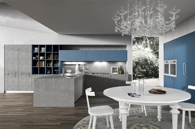 Dise o de cocinas modernas modelos simples y elegantes for Disenos de muebles de cocina colgantes