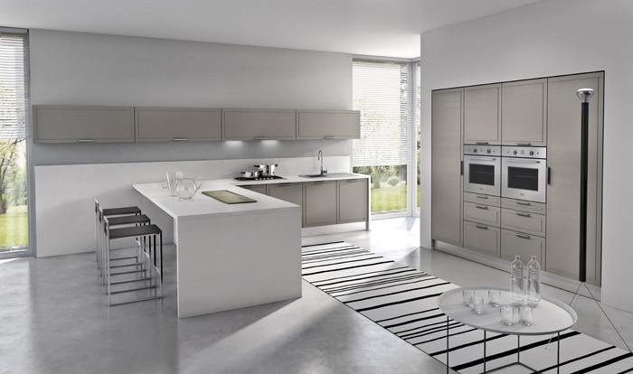 Dise o de cocinas modernas modelos simples y elegantes for Disenos de cocinas integrales minimalistas
