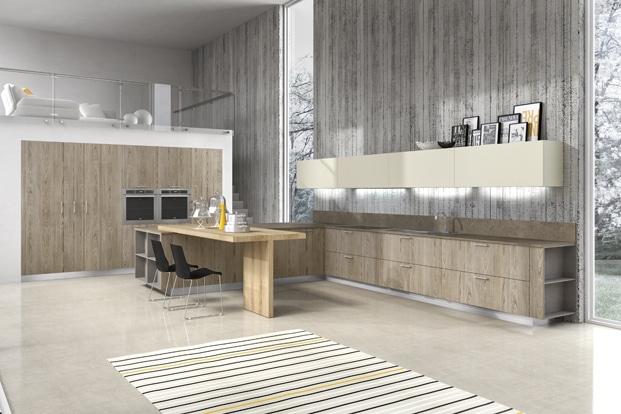 Dise o de cocinas modernas modelos simples y elegantes for Modelos de reposteros para cocina