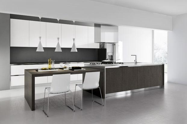 Dise o de cocinas modernas modelos simples y elegantes for Modelos de sala comedor modernas