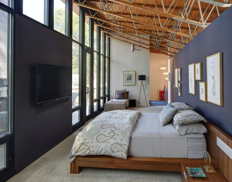 Remodelar casa peque a y antigua para hacerla moderna for Dormitorio principal