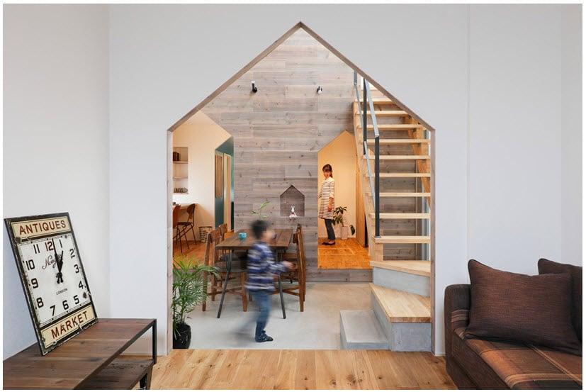 Planos de casa de dos pisos con fachada y dise o interior - Interiores de casas de diseno ...