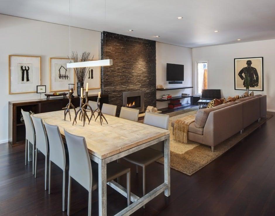 Dise o de interiores de la sala de casa moderna - Disenos interiores de casas modernas ...