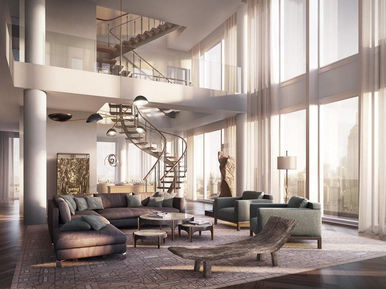 Dise O De Apartamento De Lujo Con Decoraci N Y Planos Construye Hogar