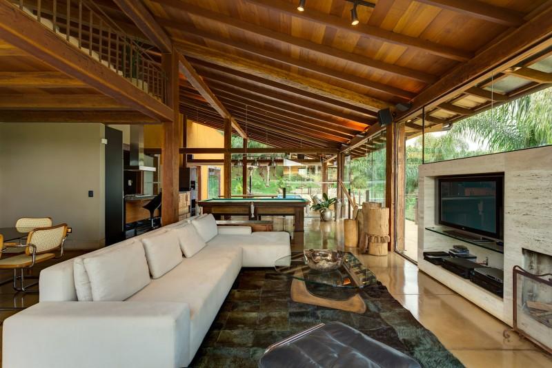Dise o de casa de campo planos interior y fachadas for Casas rurales decoracion interior