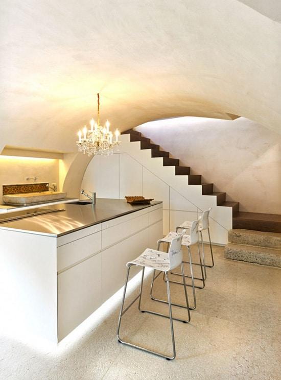 Decoración de interiores rústico y moderno, combina diseño ...