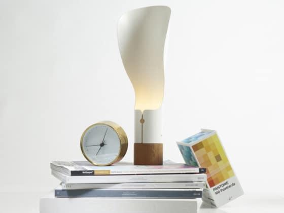 Diseño de lámpara de papel