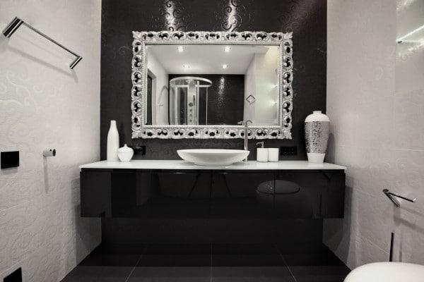 Lavatorio Baño Pequeno:Diseño de lavatorio de cuarto de baño